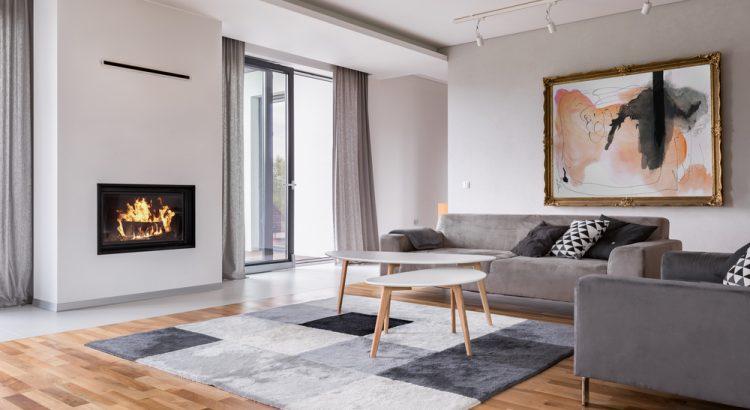desain modern living room